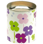 Funky Flowers Unscented Lantern