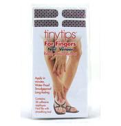 Tinytips Silver Lining Nail Polish Veneer