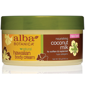 Alba Botanica Hawaiian Coconut Milk Body Cream…