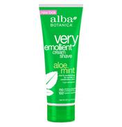 Very Emollient Cream Shave Aloe Mint