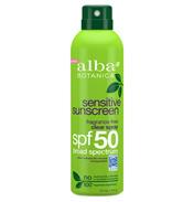 Sensitive Sunscreen Fragrance Free Clear Spray SPF50