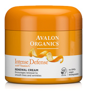 Avalon Organics Intense Defense Renewal Cream with…