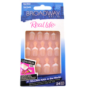 Broadway Real Life French Nails ANYWHERE