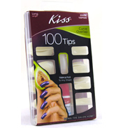Kiss 100 Curve Overlap Nail Set
