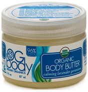 OG Body Organic Calming Body Butter 87ml