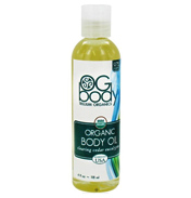 OG Body Organic Clearing Body Massage Oil 29ml