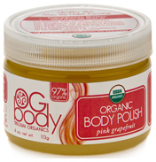 OG Body Organic Pink Grapefruit Body Polish 113g