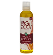 Organic Warming Body Massage Oil