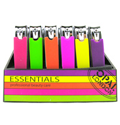 Neon Day Glo Nail Clippers