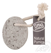 Opal Oval Pumice on Rope