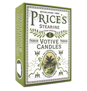 Prices Heritage Stearine Votives