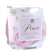 Prices Scented Jar Candle - Tea Rose