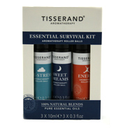 Tisserand Survival Kit (De-Stress, Sweet Dreams,…